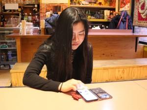SNSのつながりはタイの友達ばかり。日本人との友達つながりは日本語の先生くらいというダーオさん